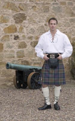 Classic Jacobite Kilt Outfit