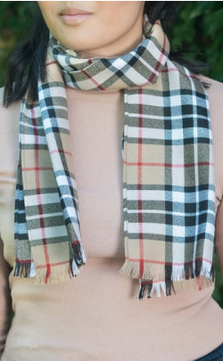 Essential Scotweb Fine Wool Tartan Scarf