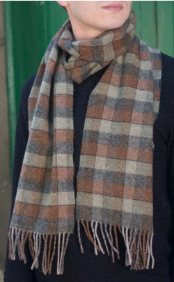Braveheart Tartan Soft Wool Scarf
