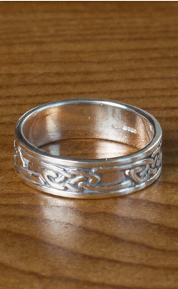 Silver Celtic Band – FR146