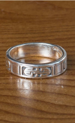 Silver Celtic Band – FR128