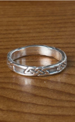 Silver Celtic Band – FR151