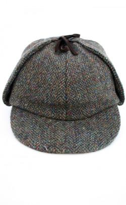 Harris Tweed Deerstalker Hat