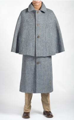 Harris Tweed Inverness Cape