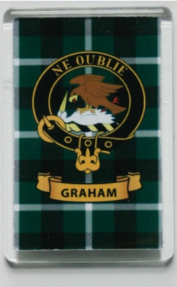 Clan Crest Fridge Magnet