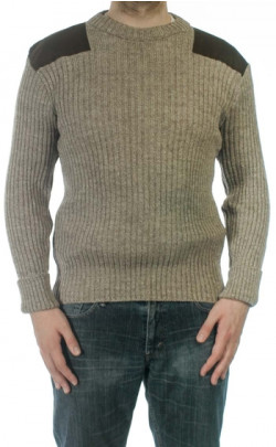 Heather Mix York Crew Neck Sweater