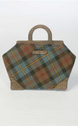 D.C. Dalgliesh Exclusive: Large Framed Tartan Handbag