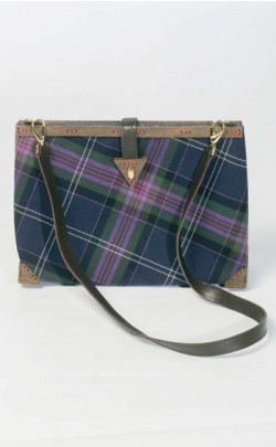 D.C. Dalgliesh Exclusive: Tartan Clutch Bag