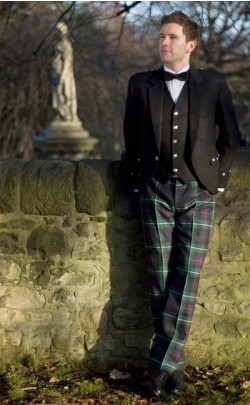 Classic Argyll Trews Outfit