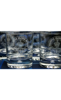 Clan Crest Whisky Glass ‑ Set of 4