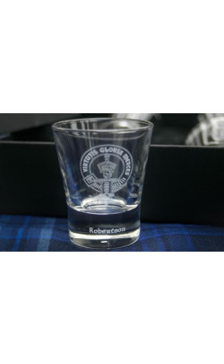 Clan Crest Dram Glass ‑ Set of 6