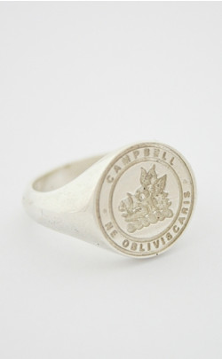 Small Clan Crest Seal Ring