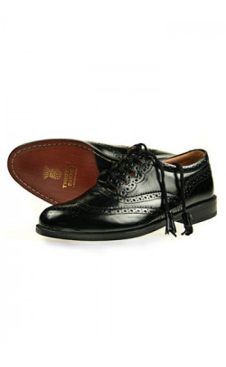 Wide Fitting Ghillie Brogues