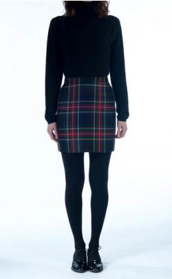 Mini Skirt, tartan