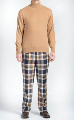 Tartan Trousers, made‑to‑measure