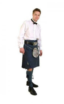 Tweed Casual Kilt