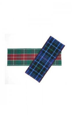 Welsh Tartan Ribbon, 40mm wide