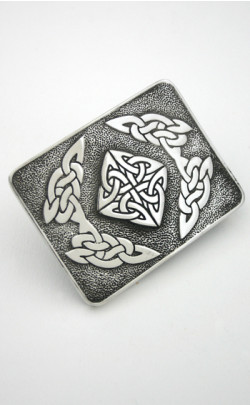 Celtic Square Buckle