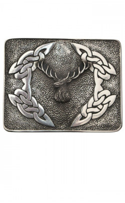 Stag Belt Buckle