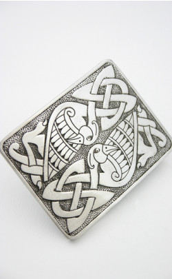 Celtic Bird Buckle