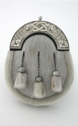 Dress Sporran with Celtic Bird Cantle