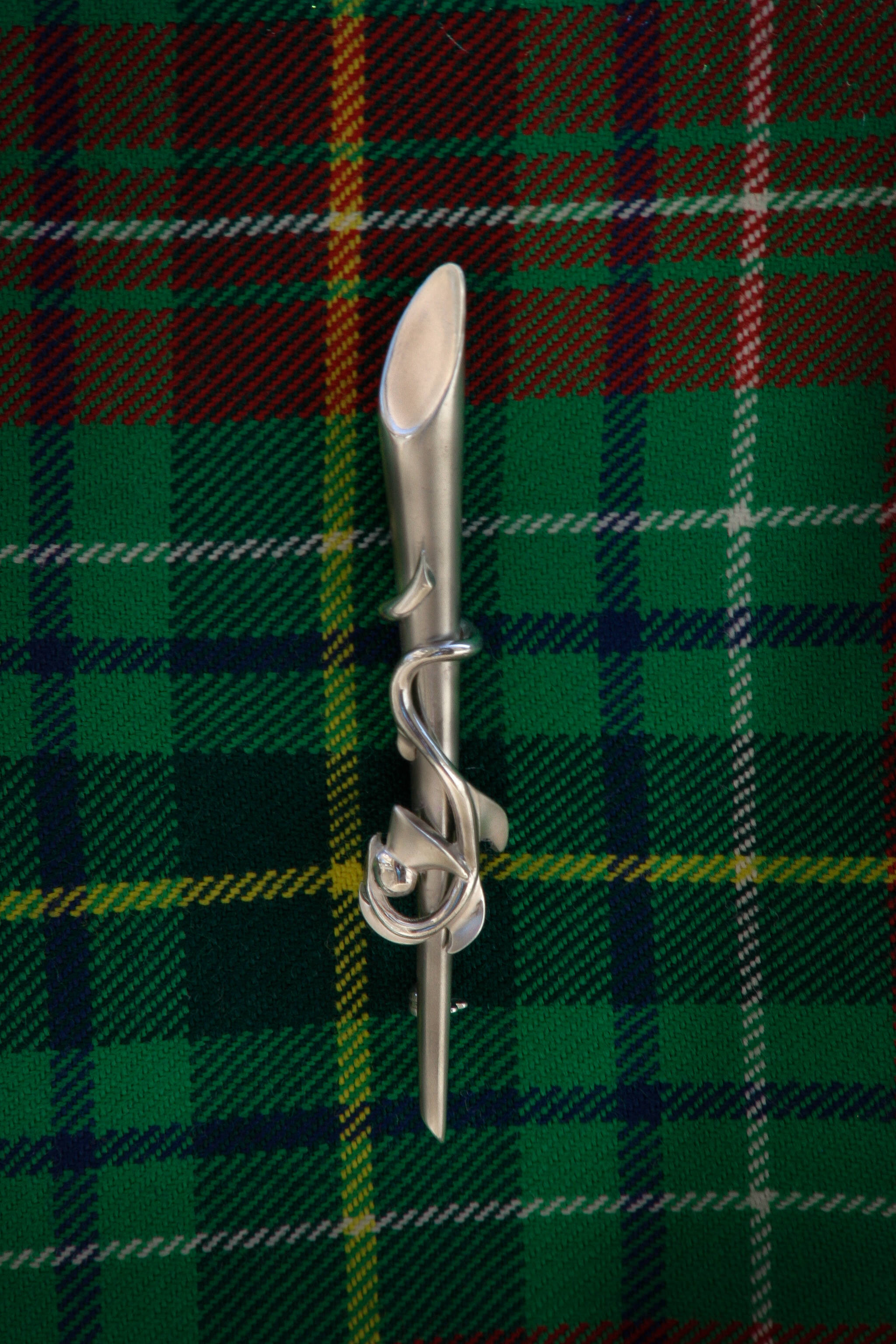 How To Wear A Kilt Pin